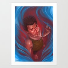 Red from Pineapple Express Art Print