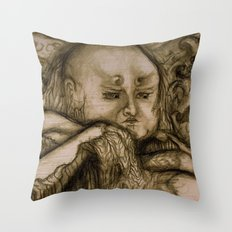 Erosion (Color Variant) Throw Pillow