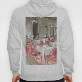 Boca Raton Cafe/ A Woman In A Cafe/ A Woman Is Alone/ A Cafe In Boca Raton Hoody