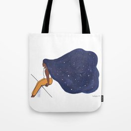 Star Woman Tote Bag