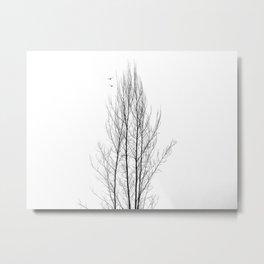 Naked Tree Metal Print