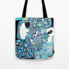 the walls must fall Tote Bag