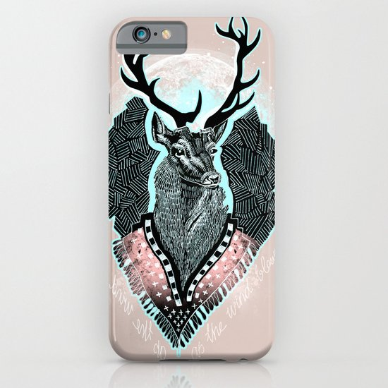 Wind:::Deer iPhone & iPod Case