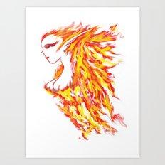 Firebeauty Art Print