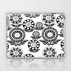Circular Flower Laptop & iPad Skin