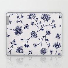 Indigo Floral Trail (reversed) Laptop & iPad Skin