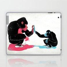 Monkey See Monkey Do Laptop & iPad Skin