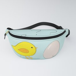 The chicken or the egg Fanny Pack