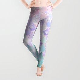 Mermaid Pastel Iridescent Leggings