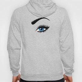 Fashion blue eye Hoody