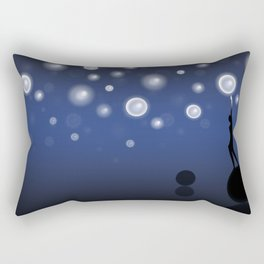 The dark is necessary to see the stars... Rectangular Pillow
