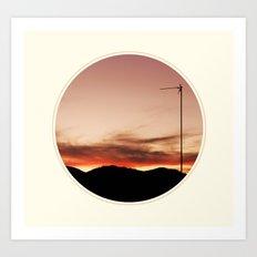 Spoiled sunset Art Print