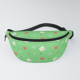 The Christmas Pattern II Fanny Pack