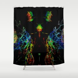 Technofly Shower Curtain