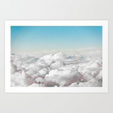Cotton Sky Art Print