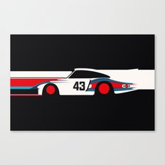 Moby Dick - Vintage Porsche 935/70 Le Mans Race Car Canvas Print