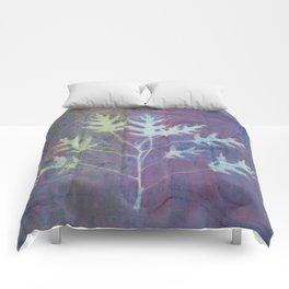 Cyanotype No. 7 Comforters