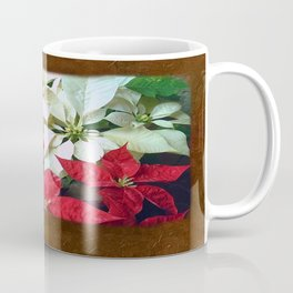 Mixed color Poinsettias 1 Blank P3F0 Coffee Mug
