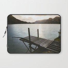 Salmon Sunrise Laptop Sleeve