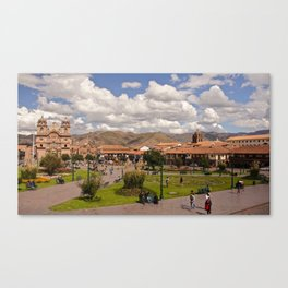 Cusco Canvas Print