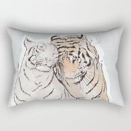 Tiger Love Rectangular Pillow