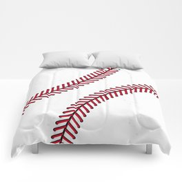 Fantasy Baseball Super Fan Home Run Comforters