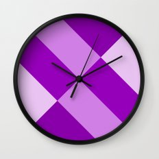 Purple Gradient Wall Clock