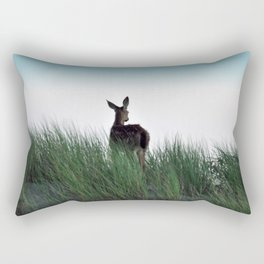 Deer Stop Rectangular Pillow