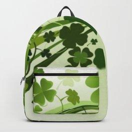 Tréboles de la suerte Backpack