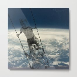 Morning Swing Metal Print
