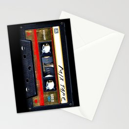 Retro cassette mix tape Stationery Cards