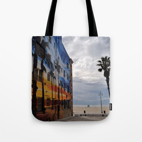 Venice Tropical Mural Tote Bag
