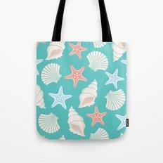 Shells pattern Tote Bag