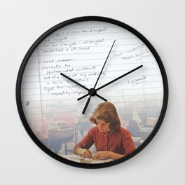 I've Learned; [Dear Capitalist Scum] Wall Clock