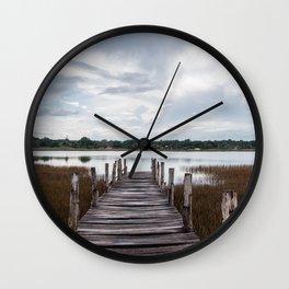 Lake of Cobá Wall Clock