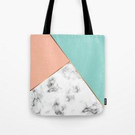 Marble Geometry 056 Tote Bag