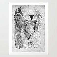 HOLY_COW Art Print