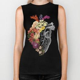 Flower Heart Spring Biker Tank