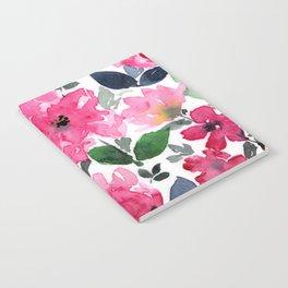 Fuschia Garden Notebook