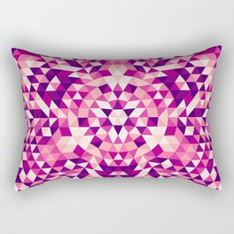 Triangle mandala 1 Rectangular Pillow