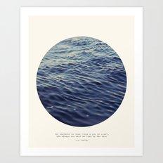 You or Me Art Print