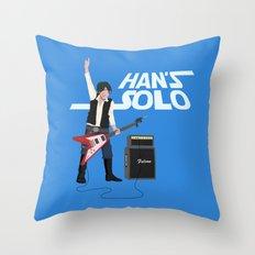 Han's Solo Throw Pillow