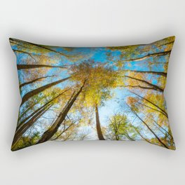 Kaleidoscope - Fall Colors in Trees of Great Smoky Mountains Rectangular Pillow