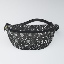 Suits You BLACK Fanny Pack