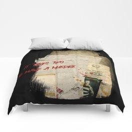 Murder Board Comforters