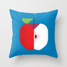 Fruit: Apple Throw Pillow