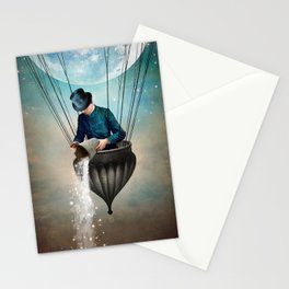 High in the Sky Stationery Cards