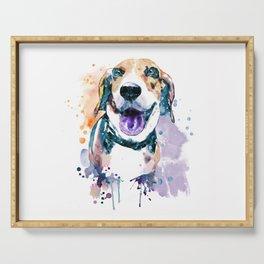 Sweet Beagle Serving Tray