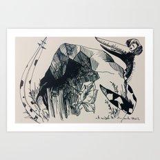 Terrordactly Art Print