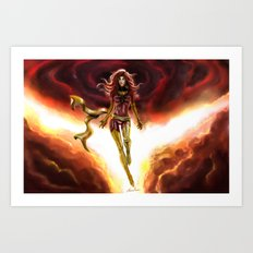 X-men-Phoenix... Art Print